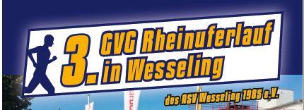 Dritter GVG Rheinuferlauf - ASV Wesseling
